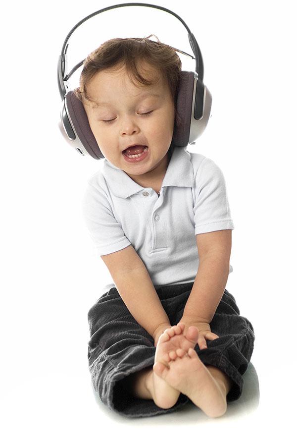 Funny headphones photo