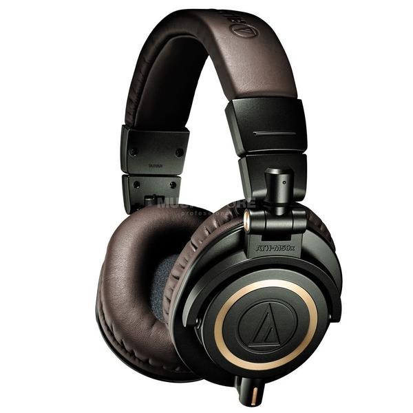Audio Technica ATH M50X Headphones dark brown