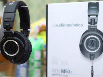 Audio Technica ATH M50X Headphones Review