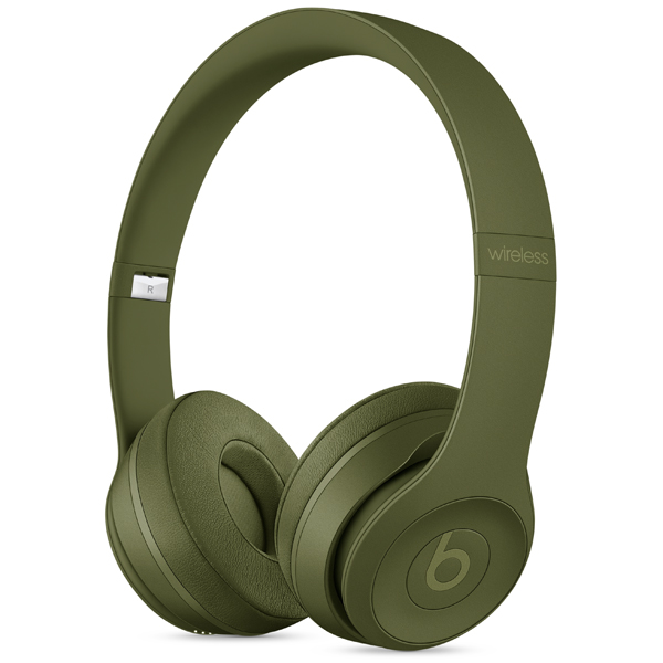 Beats Solo3 Wireless Headphones green