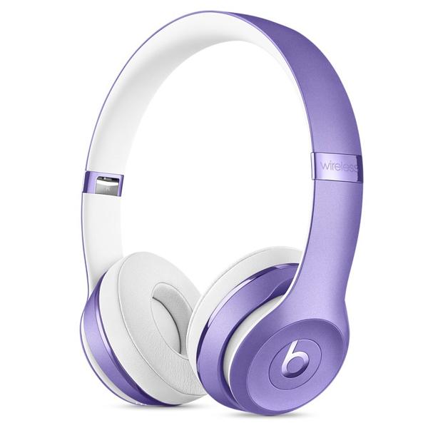 Beats Solo3 Wireless Headphones purple