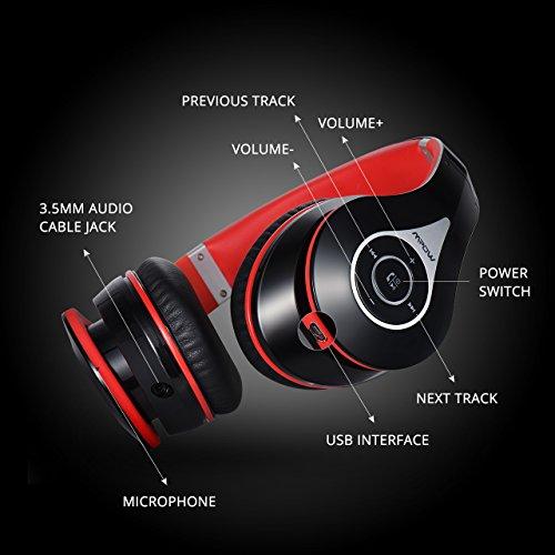 MPOW 059 Headphones control